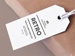 Tag Card, Packaging Type: Paper