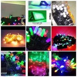 220 Multicolor Jhaler Light, For Decoration