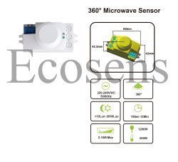 Microwave Sensor Module Light