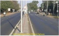 Four Lanning Of Surat Dhuliya Highway Project