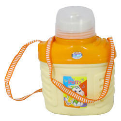 Shree SS Cream And Orange Insulated Kids Water Bottle 800 ml Approx