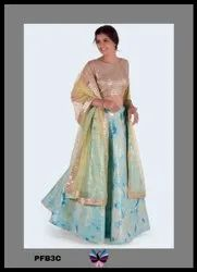 Party Wear Stylish Lehenga