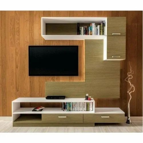 Wall Mounted Living Room Tv Unit For Residential Rs 75 Square Feet Id 21386834955