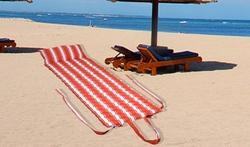 Red Striped Beach Mattress