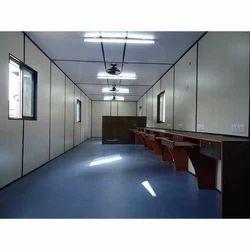 Prefab Interior Designing Portable Cabin