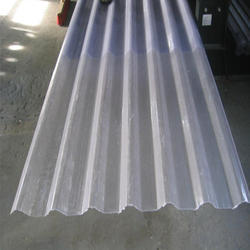 Transparent FRP Sheet, Thickness: 2mm, Shape: Rectangular