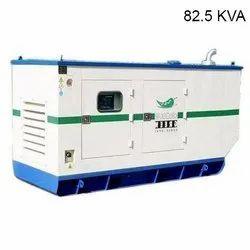 Kirloskar Green 82.5 kva Silent Diesel Generator