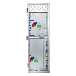 Single Aluminium Door, Size: 2x6 Feet