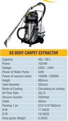 SS Body Carpet Extractor