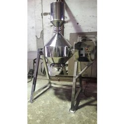 SS Double Cone Blender Machine