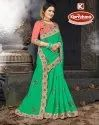 Cut Work Embroidery Saree - First Time-3