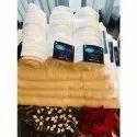 White Silky Cotton Bath Towel