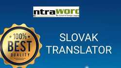 Slovak Translation service