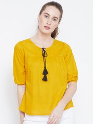 Ladies Plain Rayon Top