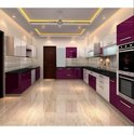 U Shape Modular Kitchen