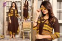 Lahariya Vol-4 Rayon Pain With Hand Work Jacket Designer Anarkali Kurtis
