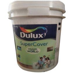 Dulux Super Cover Interior Emulsion Paint, Packaging Type: Plastic Bucket