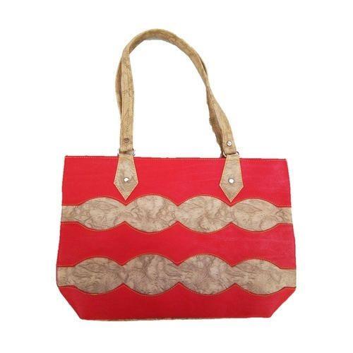 79dbdb465e17 Red,Golden Ladies Designer Handbag, Rs 145 /piece, HumarKART | ID ...