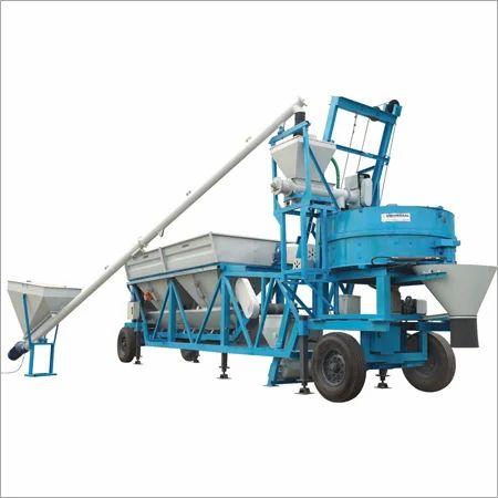 Universal Mobile Concrete Batching Plant Rs 2600000 Unit