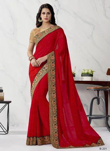 c130971970 Cotton Lace Border Work Fancy Saree, Rs 2255 /piece, Surat Wholesale ...