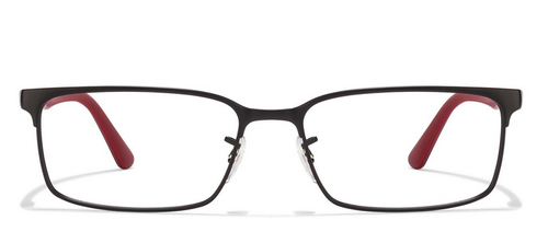 a9edfe7176 Ray-Ban RX6325 2503 Black   Red Eyeglasses
