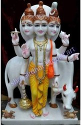 Duttatreya Marble Statue Idols