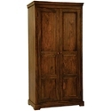 Wood Beauteous Style Redefined Wardrobe, Size: 110 X 45 X 180 Cm