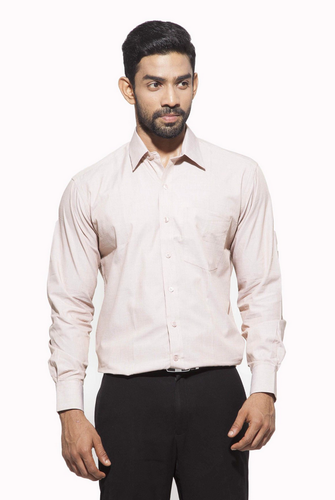 5f4cfef543e911 Dennis Morton 44.0 And 36 Men's Formal Full Sleeve Cotton Shirt, Rs ...