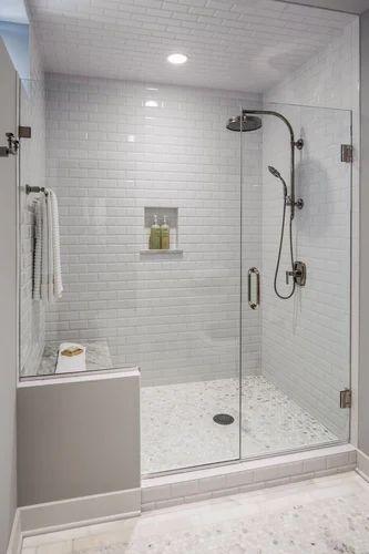 Shower Glass Partition At Rs 18500 Unit Shower Partition Id 11119232248