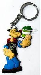 Popeye Cartoon Keychain