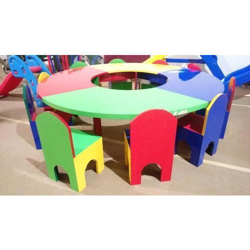 Galaxy Wood Play School Round Table Chair