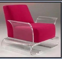 Elite Acrylic Sofa Chair for Home