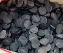 Round Buffalo Horn Blanks In Black Color, For Garments, Size/dimension: 12-35mm