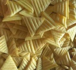 Salty Triangle Fryums, Packaging Type: Packet, Packaging Size: 1 kg also available 5 kg