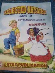 Children English Rhymes Book