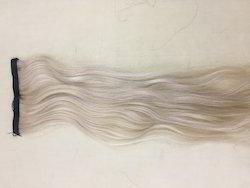 Blond Clip In Hair