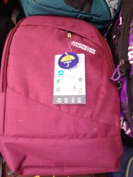 American Tourister Girls Pink School Bag