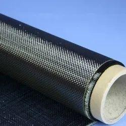 Black Carbon Fiber Fabric
