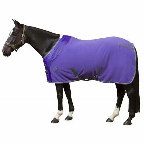 Blue Polar Fleece Horse Rugs