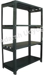 Heavy Duty Slotted Angle Rack for Supermarket and Warehouse