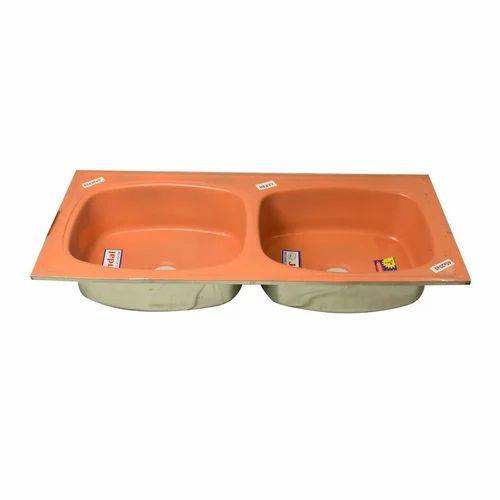 Double Bowl Kitchen Sink, Kitchen Sink | Sector 1, Delhi | Love Kush ...