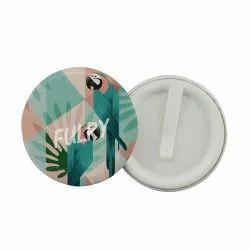 Round Clip Badge