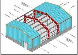 Cutom Steel Structure Drawing Services