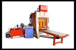Fly Ash Brick Making Machine Mini Fully Automatic, Sk / 8 Blocks