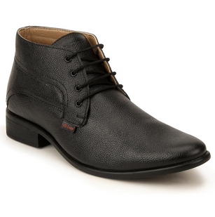 Mens Derby Black Formal Shoe