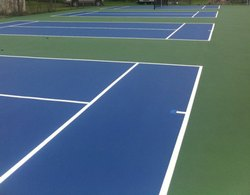 Synthetic Tennis Court Flooring For School