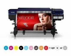 EPSON Signage Eco Solvent Printer SC-S80670 Dual Print Head For Canvas