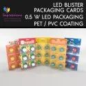 LED Bulb Blister Packaging Cards