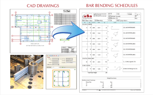 ASa / Bentley Software For CAD Detailing, For Rebar Cad