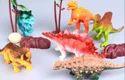 Multicolor Unisex Dinosaur Toy Sets, 6 Pcs Set, Without Battery